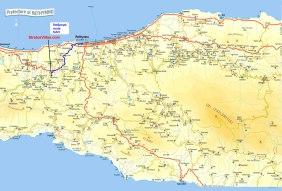 rethymno-map-zonvakantie griekenland