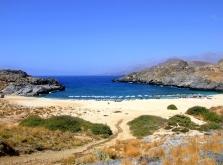 Rethymnon Skoinaria-strand- zonvakantie