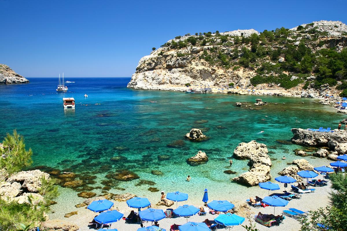 RhodesBeach – strandvakantie GRiekenland   Trip2Greece