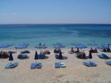 strand lesbos zonvakantie griekenland