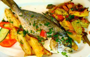 vis eten op kreta tijdens je zonvakantie