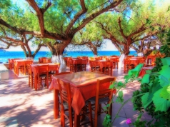 Urlaub auf der Insel Kreta, vissersdorp