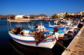 zonvakantie kreta vissersdorpje