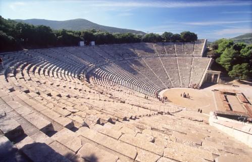 Epidurus-amphitheatre-zonvakantie