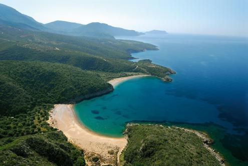 peleponessos griekenland zonvakantie met romantiek