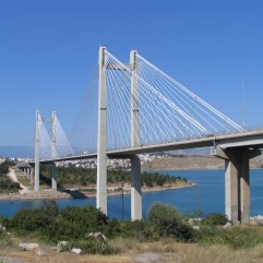 The-Chalkida-Bridge-In-Euboea-vakantie griekenland