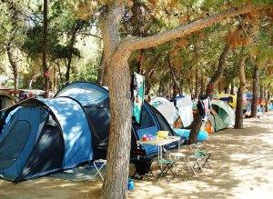 camping zonvakantie griekenland 3