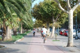 fietsen op vakantie in kos griekenland, zon zee strand 1