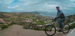 fietsen op vakantie in kos griekenland, zon zee strand 3
