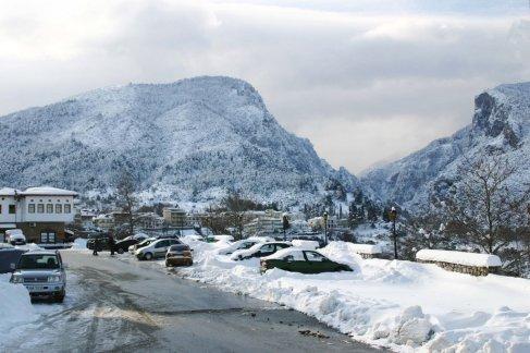 griekenland winter vakante