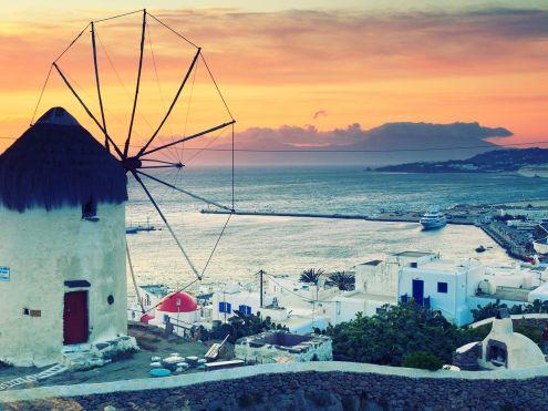 Mykonos-Griekenland zonvakantie