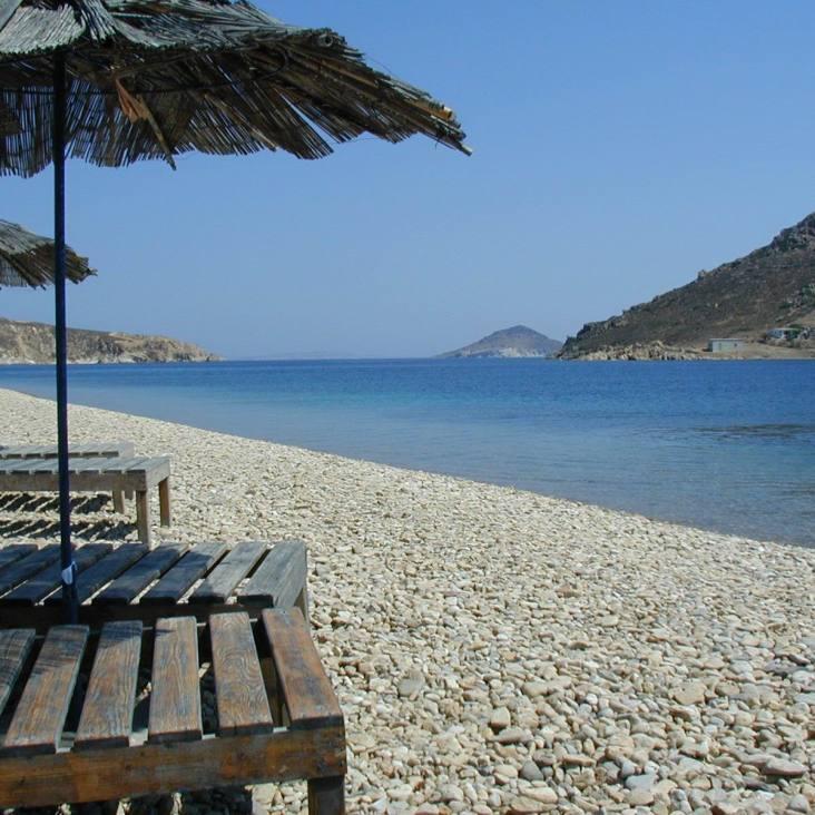 Patmos-griekenland-zonvakantie zee strand