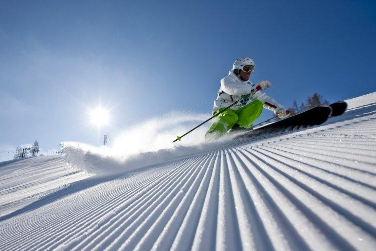 piste skier griekenland vakantie winter
