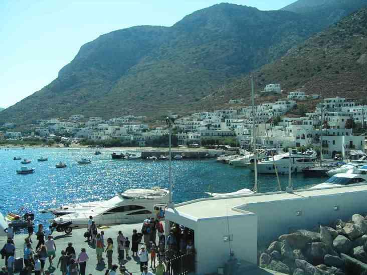 Sifnos vakantie zon zee strand boeken online - boot