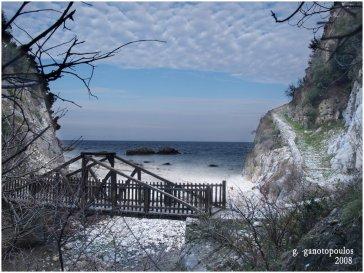winter strand vakantie griekenland