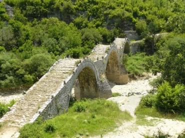 Zagorochoria-brug vakantie reis rond