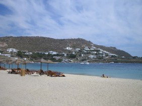 ornos strand mykonos