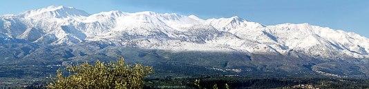 Lefkas bergen winter vakantie