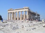 winter-lente in Athene vakantie