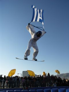 wintersport griekenland vakantie