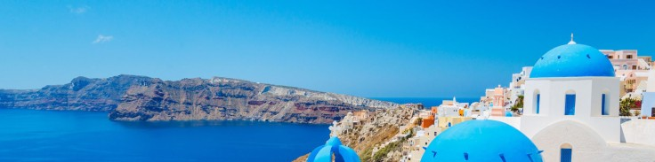 Santorini vakantie