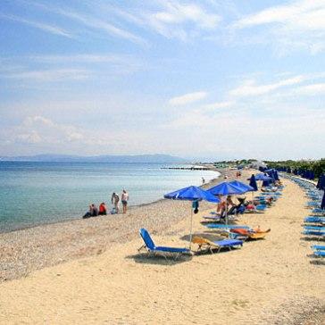 family-beach-in-psalidi-zonvakantie kos