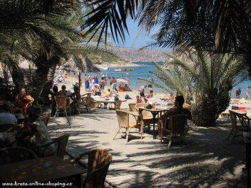 vai beach palmenstrand vakantie kreta griekenland