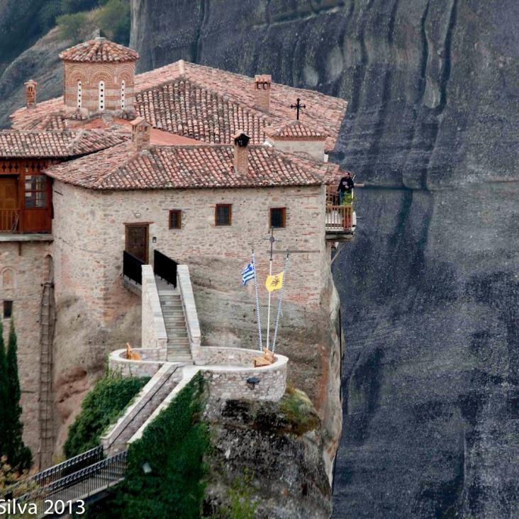Griekenland Meteora-vakantie boeken klooster op berg