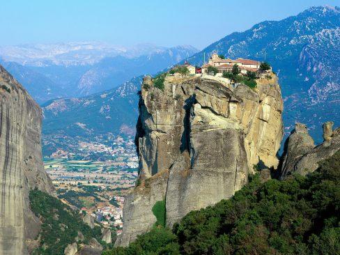 holy trinity meteora vakantie griekenland