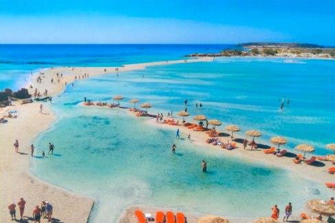 Elafonisi strand top 10 Kreta