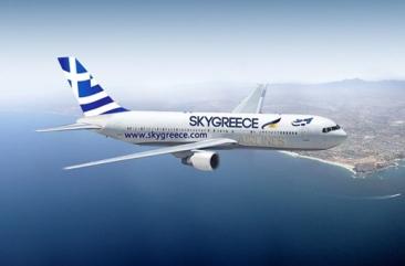Vliegen naar Griekenland