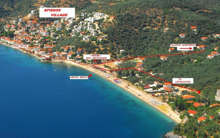 afissos griekenland vakantie