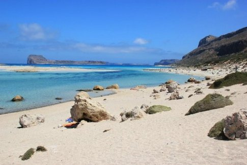 mooi strand kreta