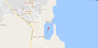 Rhodos, st Pauls bay, strand, baai vakantie 1