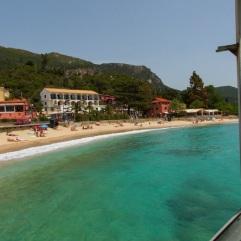 Paleokastritsa, corfu, vakantie, griekenland mooi strand 123