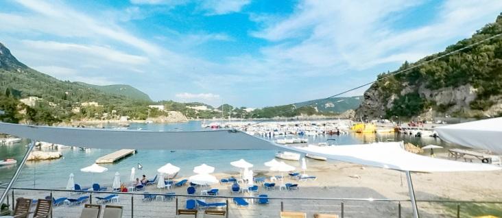 Paleokastritsa, corfu, vakantie, griekenland mooi strand 18