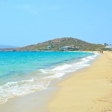 agios-prokopios mooi strand op Naxos, vakantie griekenland 1