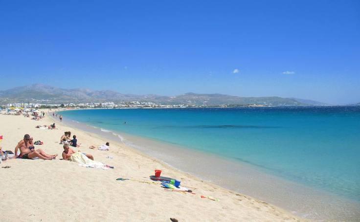 agios-prokopios mooi strand op Naxos, vakantie griekenland 2