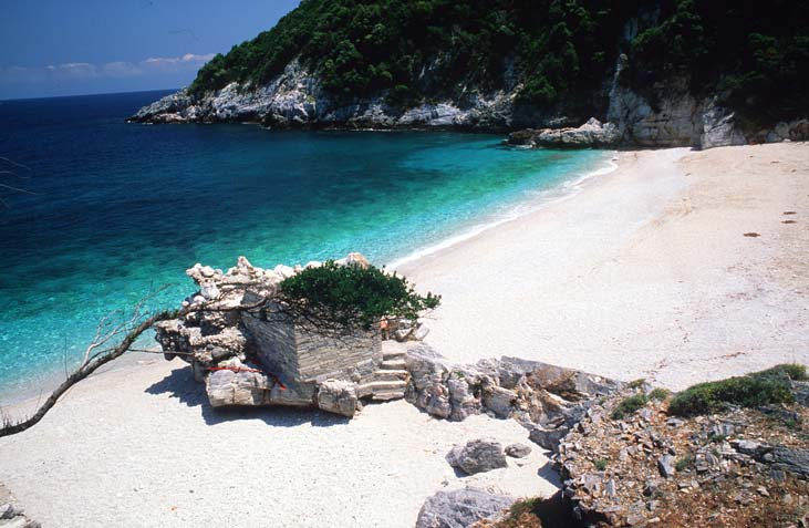 pelion pilion greieknalnd vakantie super mooi strand Limnionas 001