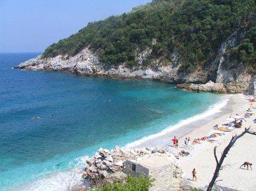 pelion pilion greieknalnd vakantie super mooi strand Limnionas 002