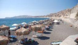 Santorini-Vlychada-Beach, strand