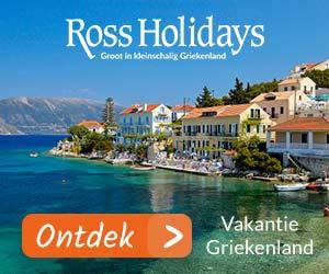 Ross Holidays Vakantie Griekenland banner