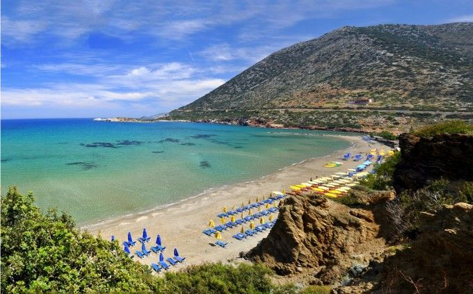 bali beach is een van de mooiste stranden van kreta