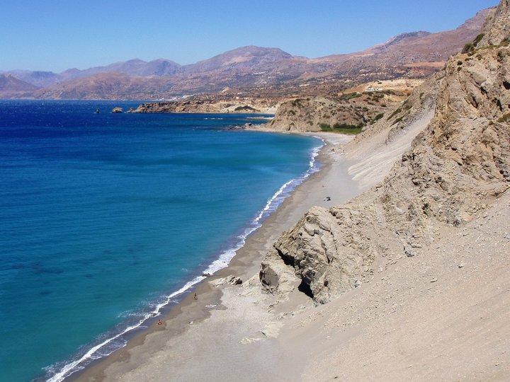 st pauls sandhills beach is een van de mooiste stranden van kreta