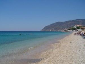 Agios Isidoros Beach mooiste stranden lesbos