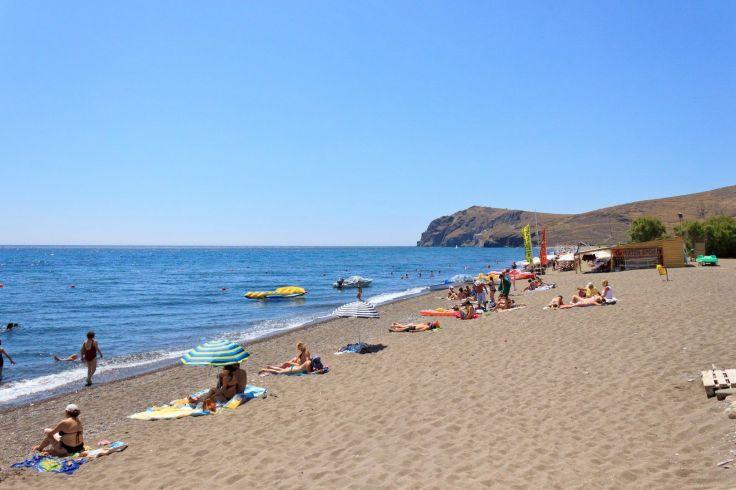Skala Eressos Beach - mooiste stranden lesbos