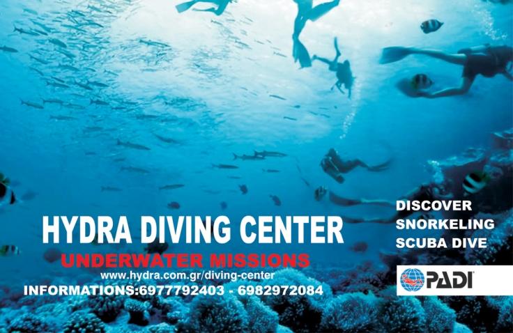 snorkelen en duiken op Hydra - vakantie griekenland 21
