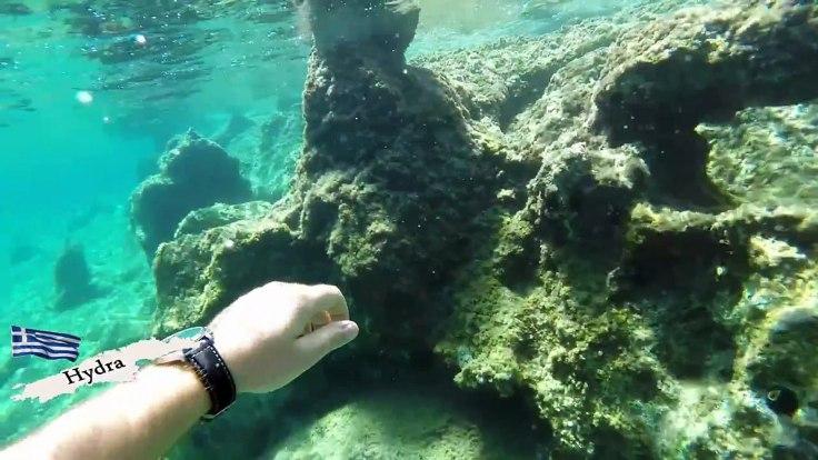 snorkelen en duiken op Hydra - vakantie griekenland 221