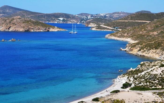 patmos griekenland stranden - ideaal om te duiken en te snorkelen