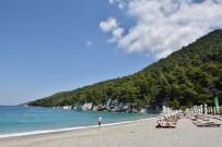 strand skopelos